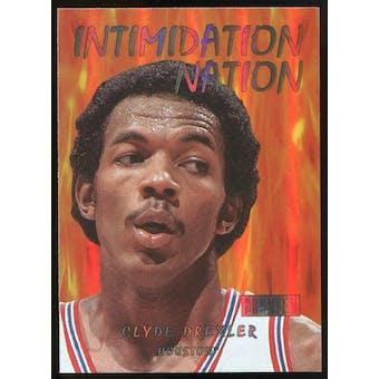 2011/12 Upper Deck Fleer Retro Intimidation Nation #4 Clyde Drexler