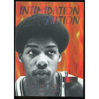 2011/12 Upper Deck Fleer Retro Intimidation Nation #8 Julius Erving