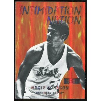 2011/12 Upper Deck Fleer Retro Intimidation Nation #9 Magic Johnson