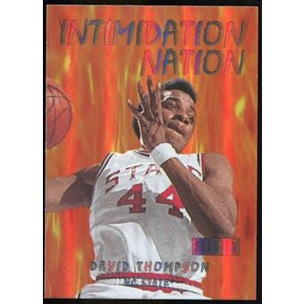 2011/12 Upper Deck Fleer Retro Intimidation Nation #11 David Thompson