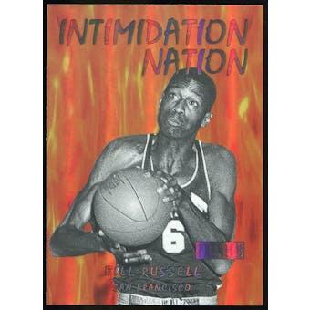 2011/12 Upper Deck Fleer Retro Intimidation Nation #15 Bill Russell