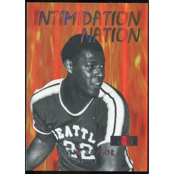2011/12 Upper Deck Fleer Retro Intimidation Nation #17 Elgin Baylor