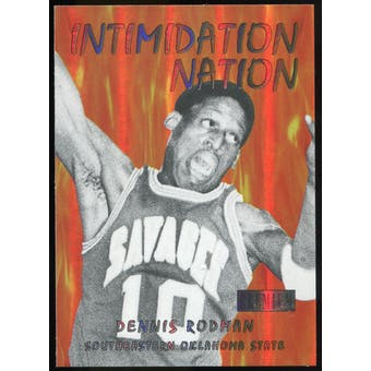 2011/12 Upper Deck Fleer Retro Intimidation Nation #18 Dennis Rodman