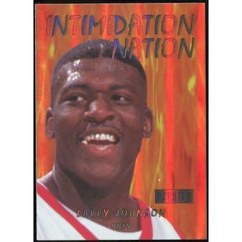 2011/12 Upper Deck Fleer Retro Intimidation Nation #22 Larry Johnson