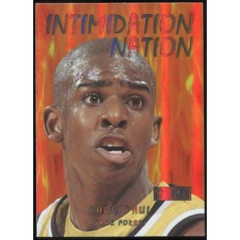 2011/12 Upper Deck Fleer Retro Intimidation Nation #24 Chris Paul