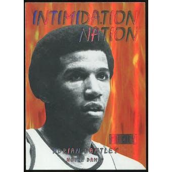 2011/12 Upper Deck Fleer Retro Intimidation Nation #28 Adrian Dantley