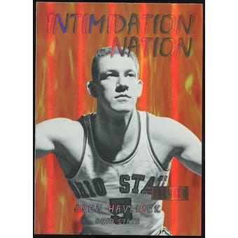 2011/12 Upper Deck Fleer Retro Intimidation Nation #29 John Havlicek