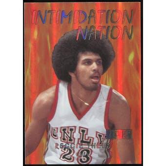 2011/12 Upper Deck Fleer Retro Intimidation Nation #30 Reggie Theus