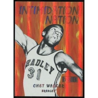 2011/12 Upper Deck Fleer Retro Intimidation Nation #31 Chet Walker