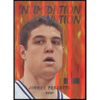 2011/12 Upper Deck Fleer Retro Intimidation Nation #33 Jimmer Fredette