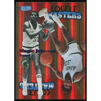 2011/12 Upper Deck Fleer Retro Ultra Court Masters #4 Magic Johnson