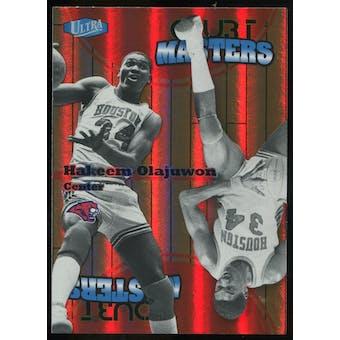 2011/12 Upper Deck Fleer Retro Ultra Court Masters #8 Hakeem Olajuwon