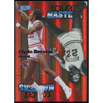 2011/12 Upper Deck Fleer Retro Ultra Court Masters #9 Clyde Drexler
