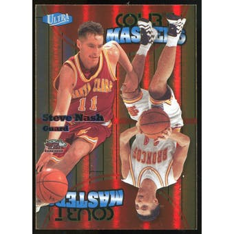 2011/12 Upper Deck Fleer Retro Ultra Court Masters #11 Steve Nash