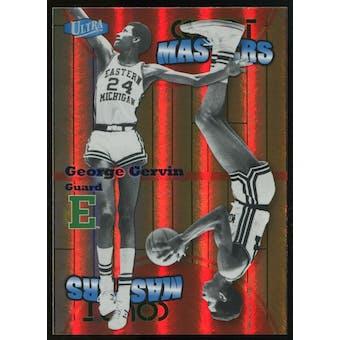 2011/12 Upper Deck Fleer Retro Ultra Court Masters #19 George Gervin