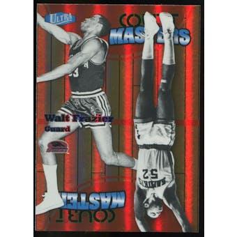 2011/12 Upper Deck Fleer Retro Ultra Court Masters #22 Walt Frazier