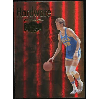 2011/12 Upper Deck Fleer Retro Metal Championship Hardware #4 Bill Walton