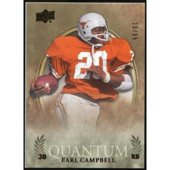 2013 Upper Deck Quantum #15 Earl Campbell /65