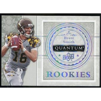 2013 Upper Deck Quantum '14 Draft Picks Silver Spectrum #XRC27 Brett Smith /25