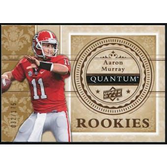 2013 Upper Deck Quantum '14 Draft Picks #XRC5 Aaron Murray /175