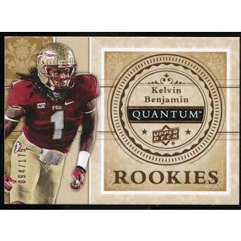 2013 Upper Deck Quantum '14 Draft Picks #XRC16 Kelvin Benjamin /175