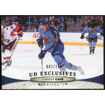 2011/12 Upper Deck Exclusives #4 Evander Kane /100