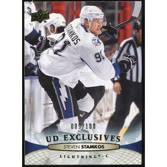 2011/12 Upper Deck Exclusives #26 Steven Stamkos /100