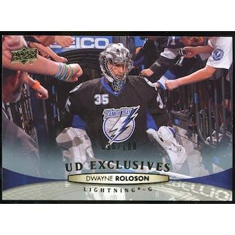 2011/12 Upper Deck Exclusives #29 Dwayne Roloson /100