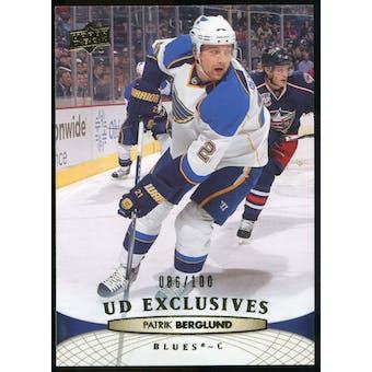 2011/12 Upper Deck Exclusives #34 Patrik Berglund /100