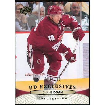 2011/12 Upper Deck Exclusives #53 Shane Doan /100