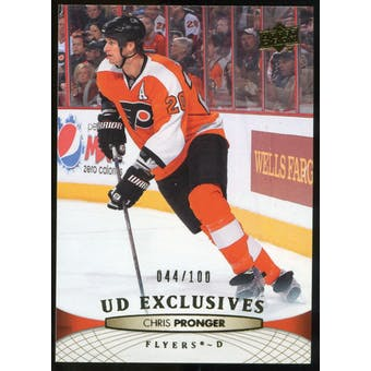2011/12 Upper Deck Exclusives #62 Chris Pronger /100