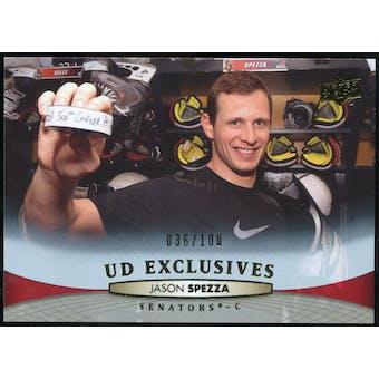 2011/12 Upper Deck Exclusives #66 Jason Spezza /100
