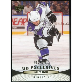 2011/12 Upper Deck Exclusives #116 Jarret Stoll /100
