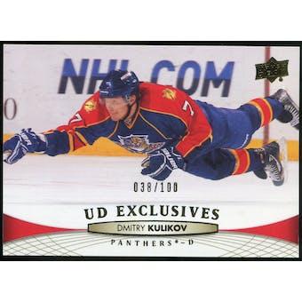 2011/12 Upper Deck Exclusives #124 Dmitry Kulikov /100