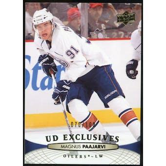 2011/12 Upper Deck Exclusives #129 Magnus Paajarvi /100