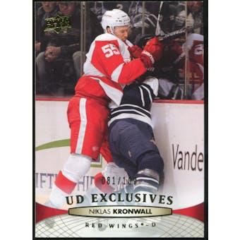 2011/12 Upper Deck Exclusives #136 Niklas Kronwall /100