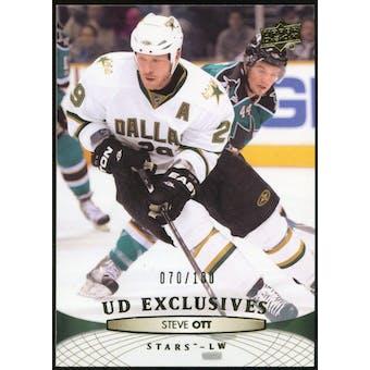 2011/12 Upper Deck Exclusives #145 Steve Ott /100