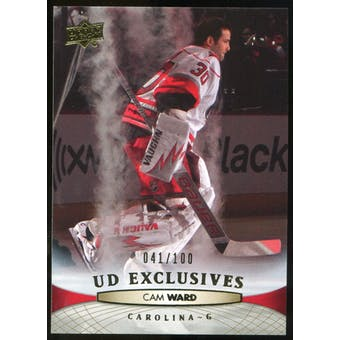 2011/12 Upper Deck Exclusives #170 Cam Ward /100
