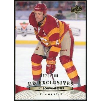 2011/12 Upper Deck Exclusives #179 Jay Bouwmeester /100