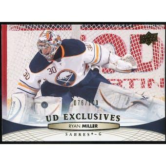 2011/12 Upper Deck Exclusives #180 Ryan Miller /100