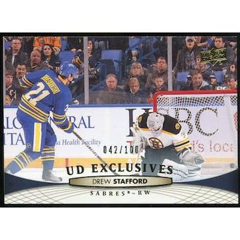 2011/12 Upper Deck Exclusives #181 Drew Stafford /100