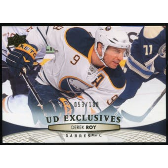 2011/12 Upper Deck Exclusives #182 Derek Roy /100