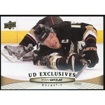 2011/12 Upper Deck Exclusives #197 Ryan Getzlaf /100