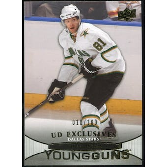 2011/12 Upper Deck Exclusives #213 Tomas Vincour YG /100