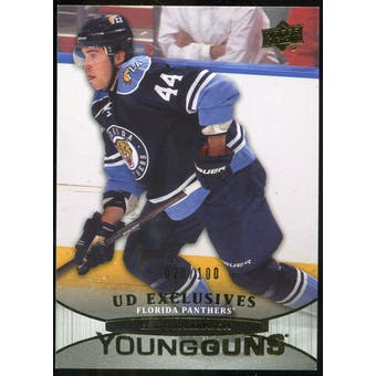 2011/12 Upper Deck Exclusives #217 Erik Gudbranson YG /100