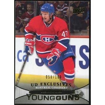 2011/12 Upper Deck Exclusives #222 Brendon Nash YG /100