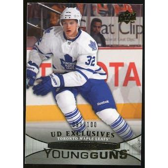 2011/12 Upper Deck Exclusives #242 Joe Colborne YG /100
