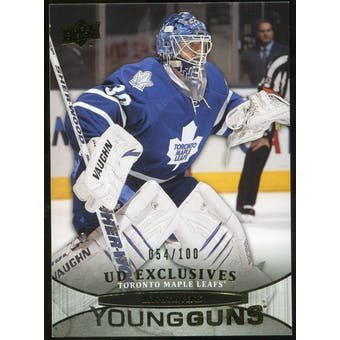 2011/12 Upper Deck Exclusives #244 Ben Scrivens YG /100
