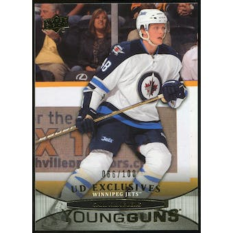 2011/12 Upper Deck Exclusives #247 Carl Klingberg YG /100