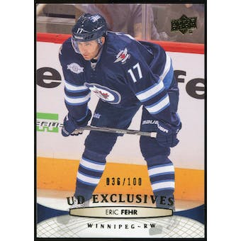 2011/12 Upper Deck Exclusives #253 Eric Fehr /100